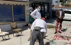 Πεντέλη: Ξεκίνησε ο Δήμος το έργο της ανακατασκευής και συντήρησης πεζοδρομίων σε κεντρικά σημεία της πόλης