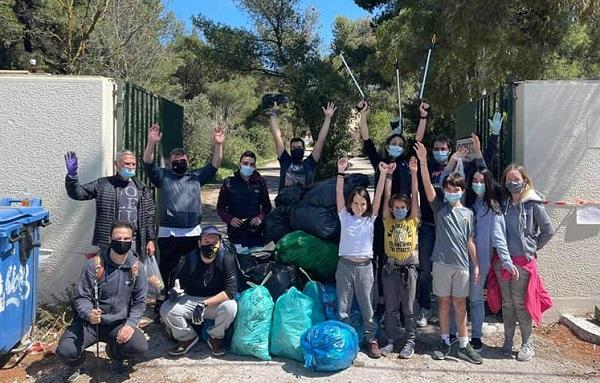 Πεντέλη : «Save Your Hood» Νέα Κυριακάτικη εθελοντική δράση καθαρισμού από νέα παιδιών στο δάσος του ΝΙΕΝ