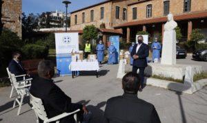 Περιφέρεια Αττικής : Με πρωτοβουλία του Περιφερειάρχη Αττικής Rapid test στο Γηροκομείο Αθηνών