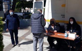 Λυκόβρυση Πεύκη: Με επιτυχία ολοκληρώθηκαν τα rapidtests σε συνεργασία με τον ΕΟΔΥ στο Δημαρχείο της Λυκόβρυσης