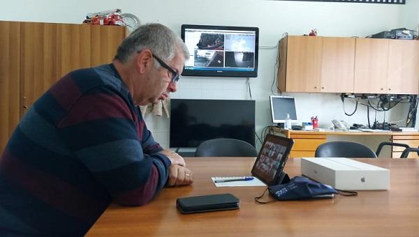 ΣΠΑΠ : O Πρόεδρος του ΣΠΑΠ στην Σύσκεψη με τηλεδιάσκεψη του Συντονιστικού Περιφερειακού Οργάνου Πολιτικής Προστασίας Ανατολικής Αττικής