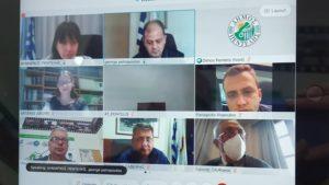 ΣΠΑΠ: Ο Πρόεδρος του ΣΠΑΠ συμμετείχε στην Συνεδρίαση του Συντονιστικού Τοπικού Οργάνου Πολιτικής Προστασίας του Δήμου Πεντέλης