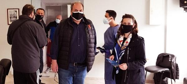Χαλάνδρι: Διενέργεια rapidtest στους εργαζομένους του Δήμου από κλιμάκιο της Περιφέρειας και του ΙΣΑ