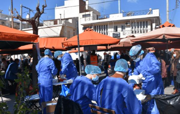 Βριλήσσια: Δωρεάν covid test στη λαϊκή αγορά Βριλησσίων για τους δημότες