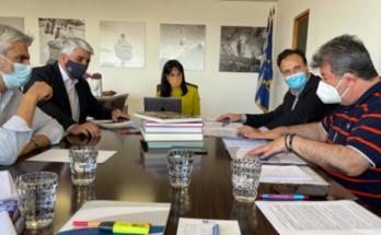 ΚΕΔΕ : Συνάντηση του Προέδρου της ΚΕΔΕ με την Υφυπουργό Πρόνοιας και Κοινωνικής Αλληλεγγύης, Δόμνα Μιχαηλίδου