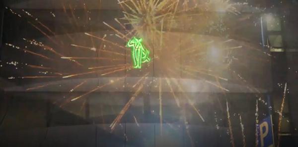 Μαρούσι: Με εντυπωσιακά πυροτεχνήματα ο Δήμος Αμαρουσίου συμμετείχε στο εορταστικό μήνυμα της Ανάστασης του Χριστού