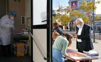 Μαρούσι: 12.000 πολίτες έχουν προσέλθει τις τελευταίες 30 ημέρες στα δωρεάν rapid test στην πλατεία Ευτέρπης