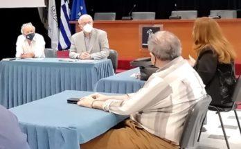 Μαρούσι: Παρουσία του Δημάρχου Αμαρουσίου η συνάντηση εργασίας για τη μετεγκατάσταση του 6ου Λυκείου