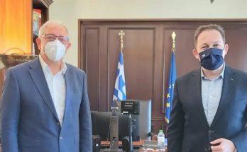 Μαρούσι: Συνάντηση του Δημάρχου Αμαρουσίου και Αντιπροέδρου ΙΤΑ με τον Αναπληρωτή Υπουργό Εσωτερικών, αρμόδιο για θέματα Αυτοδιοίκησης