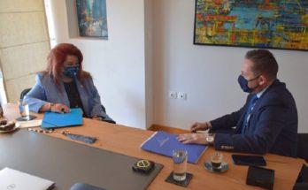 Νέα Ιωνία: Συνάντηση της Δημάρχου Νέας Ιωνίας με τον Αναπληρωτή Υπουργό Εσωτερικών