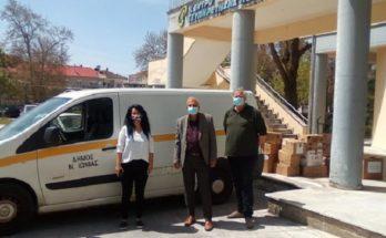 Νέα Ιωνία: Αποστολή τροφίμων και ειδών πρώτης ανάγκης στους σεισμόπληκτους Ελασσόνας και Τυρνάβου