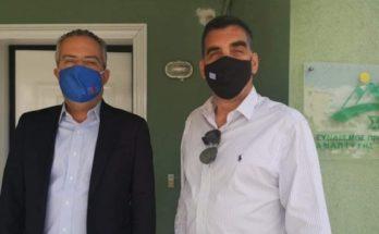 Παπάγου Χολαργός: Συνάντηση Δημάρχου με τον Πρόεδρο του ΣΠΑΥ