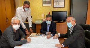 Παπάγου Χολαργός: Συνάντηση Δήμαρχου με τον Διευθύνοντα Σύμβουλο των Κτιριακών Υποδομών Α.Ε.