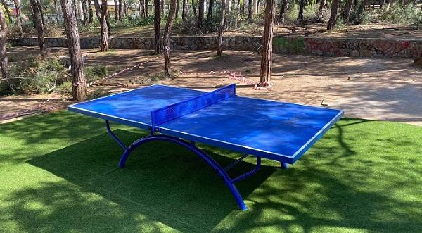 Παπάγου Χολαργός: Υπαίθρια τραπέζια ping pong ελεύθερα για τους πολίτες στο Άλσος «Α. Παπανδρέου» στον Χολαργό