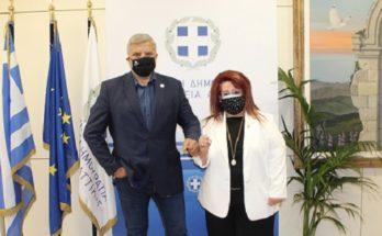 Περιφέρεια Αττικής: Συνάντησης του Περιφερειάρχη Αττικής και της Δημάρχου Ν. Ιωνίας συζητήθηκαν τα υπό εκτέλεση έργα που χρηματοδοτούνται από την Περιφέρεια και ο σχεδιασμός νέων