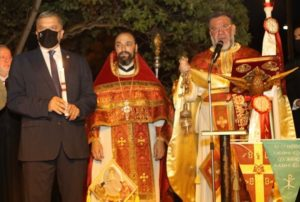 Περιφέρεια Αττικής: Στην Ιερά Ακολουθία της Αναστάσεως στην Αγία Μαρίνα Ερυθραίας παρέστη ο Περιφερειάρχης Αττικής Γ. Πατούλης