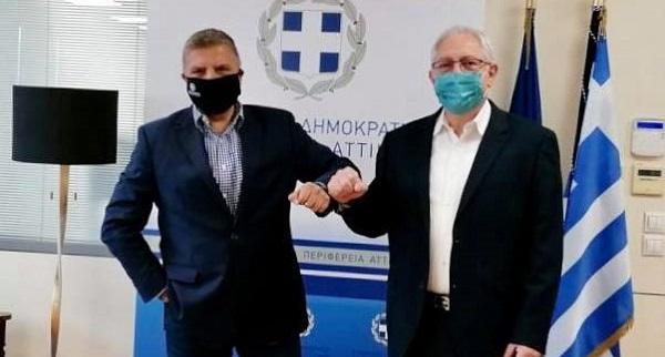 Περιφέρεια Αττικής: Ξεκινάμε τα έργα κατασκευής αγωγών ομβρίων στο κέντρο του Δήμου Αμαρουσίου