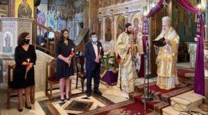 Λυκόβρυση Πεύκη: Στους Αγίους Αποστόλους για την ακολουθία του Επιταφίου Θρήνου ο Δήμαρχος