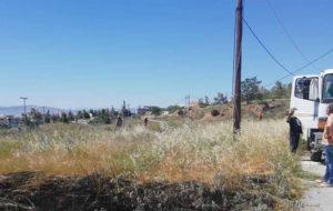 ΣΠΑΥ : Πυρκαγιά τις 14:00 στα σύνορα Ηλιούπολης και Αργυρούπολης στην περιοχή του ΚΥΤ.