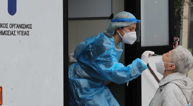 Χαλάνδρι: Στα 635 rapid test την Τετάρτη 5/5 στο Δήμο Χαλανδρίου βρέθηκαν 10 θετικά
