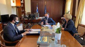 Αγ. Αναργύρων-Καματερού: Συνάντηση του Δημάρχου με τον Αν. Υπουργό Εσωτερικών για τη χρηματοδότηση νέων έργων συνολικού προϋπολογισμού 21 εκ. ευρώ