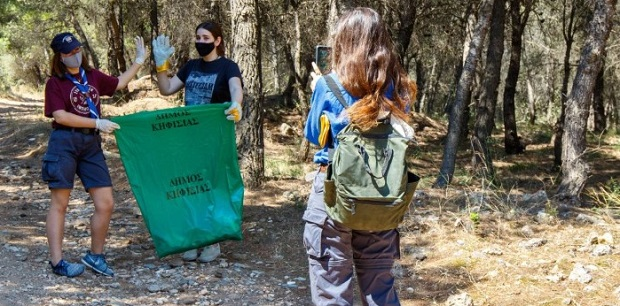 Κηφισιά: Δήμος και εθελοντές μετέτρεψαν τον συμβολισμό της Ημέρας Περιβάλλοντος σε Δράση και Αποτέλεσμα