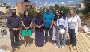 Περιφέρεια Αττικής ΠΕΒΤΑ: Θεμελίωση της προσθήκης του νέου κτιρίου του 1ου Δημοτικού σχολείου Νέας Ερυθραίας