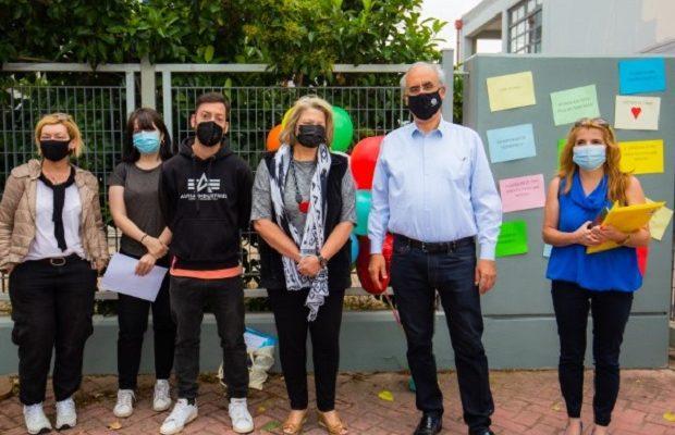 Ο Δήμαρχος κοντά στους μαθητές που συμμετέχουν στις Πανελλαδικές Εξετάσεις