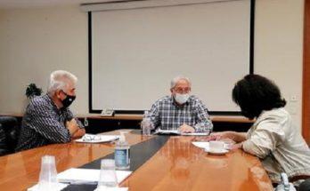 Μαρούσι: Συνάντηση του Δημάρχου Αμαρουσίου Θ. Αμπατζόγλου με το Σύλλογο Ποντίων Αμαρουσίου «Νίκος Καπετανίδης»