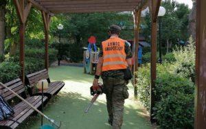 Μαρούσι : Αυτοψία Δήμαρχου στην περιοχή των Αναβρύτων όπου εκτελούνται εκτεταμένες εργασίες αποψιλώσεων, καθαρισμών και συντήρησης πρασίνου