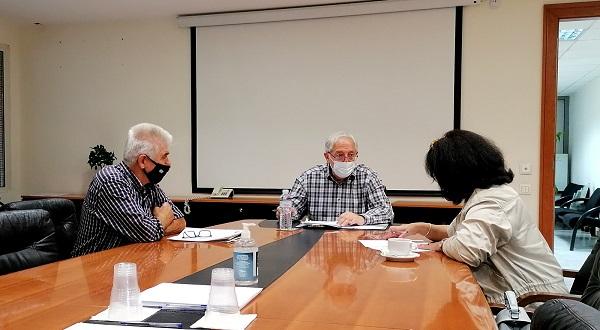 Μαρούσι: Συνάντηση του Δημάρχου Αμαρουσίου με το Σύλλογο Ποντίων Αμαρουσίου «Νίκος Καπετανίδης»