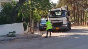 Μαρούσι: Αυτοψία του Δημάρχου Αμαρουσίου στην περιοχή της Νέας Λέσβου σε εργασίες καθαρισμών, αποψιλώσεων, συντήρησης πρασίνου και τεχνικών επισκευών