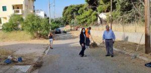 Μαρούσι : Αυτοψία του Δημάρχου Αμαρουσίου έργα καθαριότητας, πρασίνου και τεχνικών συντηρήσεων στην περιοχή του Στούντιο Άλφα