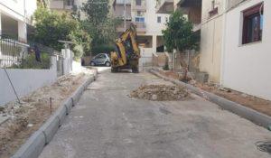 Μεταμόρφωση: Συνεχίζοντα με γοργούς ρυθμούς τα έργα για την επέκταση και αναβάθμιση των πεζοδρομίων