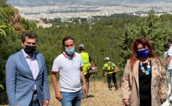 Νέα Ιωνία: Εργασίες αποψίλωσης για την πρόληψη πυρκαγιάς στα Τουρκοβούνια