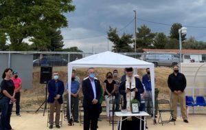 Παπάγου Χολαργός: Σε μια σεμνή τελετή έγιναν σήμερα τα εγκαίνια του Γηπέδου Στίβου στο Αθλητικό Κέντρο Χολαργού «Αντώνιος Πολύδωρας»