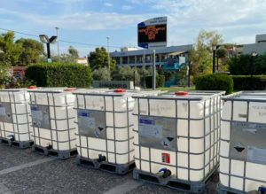 Παπάγου Χολαργός: Δωρεά πέντε δεξαμενών νερού του ενός τόνου για τις ανάγκες της πυρασφάλειας από το ΠΑΚΟΕ