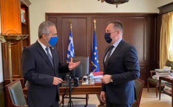 Παπάγου Χολαργός: Με τον Αναπληρωτή Υπουργό Εσωτερικών συναντήθηκε ο Δήμαρχος και Πρόεδρος του ΙΤΑ