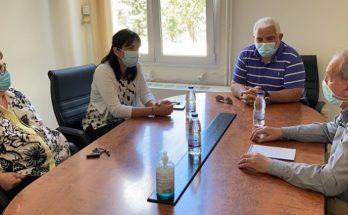 Συνάντηση είχε η Δήμαρχος Πεντέλης Δήμητρα Κεχαγιά με τον Αναπληρωτή Διοικητή του Νοσοκομείου Αμαλία Φλέμινγκ, Ιωάννη Ευθυμιάδη,