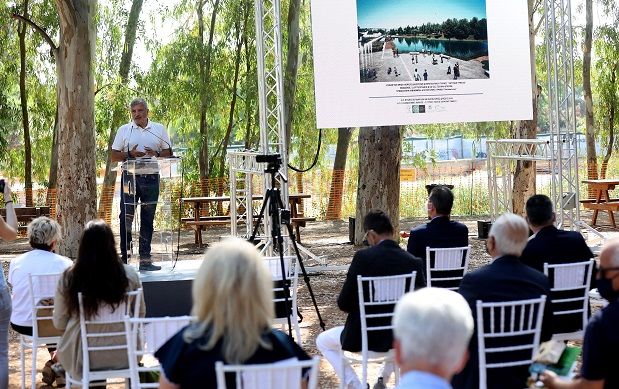 """Περιφέρεια Αττικής: Ξεκίνησαν σήμερα στο Μητροπολιτικό Πάρκο """"Αντώνης Τρίτσης"""" συνολικού ύψους 3 εκατ. ευρώ"""