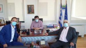 Λυκόβρυση Πεύκη: Τον Αναπληρωτή Γραμματέα Πολιτικής Επιτροπής και Διευθυντή του Προέδρου της Νέας Δημοκρατίας Στέλιο Κονταδάκη υποδέχθηκε στο γραφείο του ο Δήμαρχος