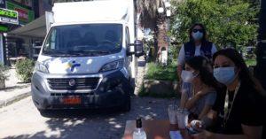"""Λυκόβρυση Πεύκη :Με επιτυχία ολοκληρώθηκαν τα rapid tests σε συνεργασία με τον ΕΟΔΥ στην Πλατεία Σοφούλη"""""""