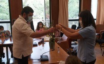Λυκόβρυση Πεύκη: Μαθητές του4ου Δημοτικού Πεύκης υποδέχθηκε ο Δήμαρχος