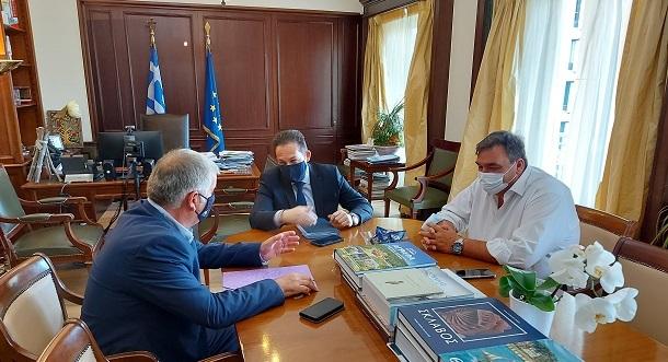 ΣΠΑΠ : Συνάντηση με τον Αναπληρωτή Υπουργό Εσωτερικών