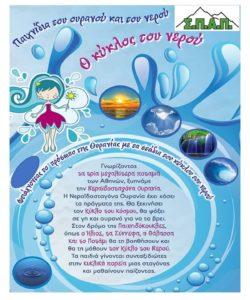 ΣΠΑΠ : Ο Σύνδεσμος πραγματοποίησε την 5η διαδικτυακή θεατρική παράσταση με τίτλο «Ο Κύκλος του Νερού» στο Κρυστάλλειο Δημοτικό Σχολείο Πεντέλης