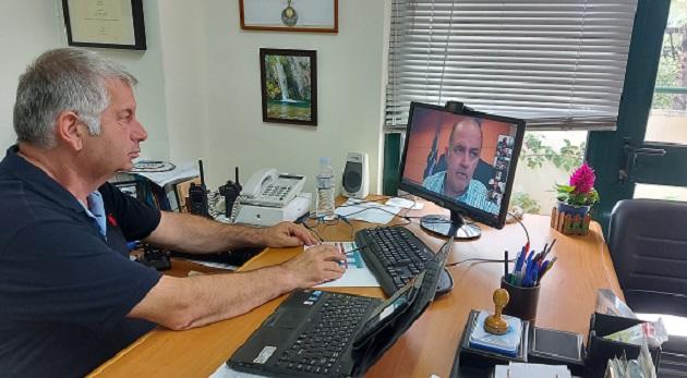 ΣΠΑΠ : O Πρόεδρος του συνδέσμου συμμετείχε στη Συνεδρίαση Συντονιστικού Οργάνου Πολιτικής Προστασίας του Δήμου Διονύσου