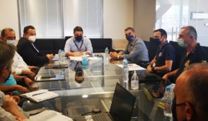 ΣΠΑΥ: Συνάντηση εργασίας του Προέδρου του ΣΠΑΥ και Δημάρχου Ελληνικού με τον Υφυπουργό Πολιτικής Προστασίας και Διαχείρισης Κρίσεων