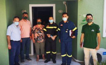 ΣΠΑΥ : Επίσκεψη στα γραφεία του συνδέσμου του Περιφερειακού Διοικητή του Πυροσβεστικού Σώματος Αττικής