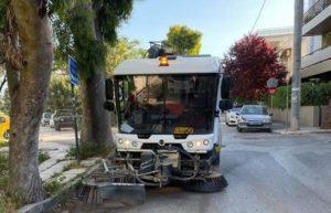 Χαλάνδρι: «Επιχείρηση» καθαριότητα στην πόλη