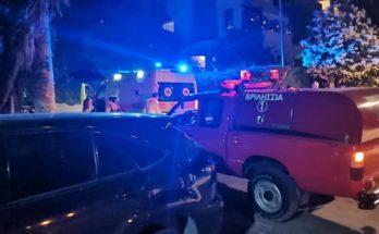 Βριλήσσια: Τροχαίο ατύχημα με τραυματισμό στην οδό Αναλήψεως και Θερμοπυλών